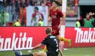 Roma-Sampdoria 4-1, si sblocca Schick: i giallorossi ripartono