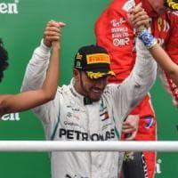 Formula 1: Hamilton non concede nulla, suo anche il Gp del Brasile