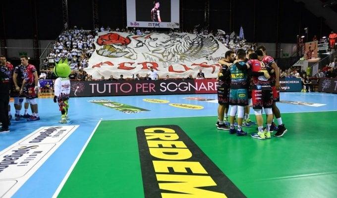 Volley. Superlega: Perugia allunga il passo, Modena battuta nel match clou