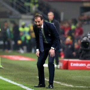 """Juventus, Allegri: """"La risposta che volevo dopo la sconfitta in Champions"""""""