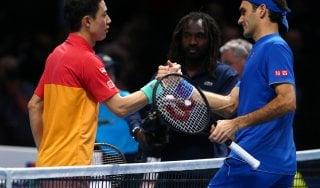 Tennis, Finals: Federer parte male, battuto da Nishikori