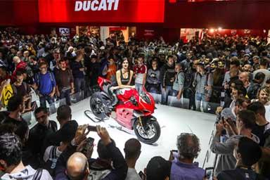 E' della Ducati lo stand più bello di Eicma 2018