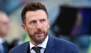 """Roma, Di Francesco: """"Stiamo crescendo, l'obiettivo è andare in Champions"""""""