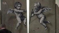Banksy provoca ancora:regala mille posterdi un'opera