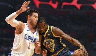 Basket, Nba: i Clippers di Gallinari stoppano Golden State, cade San Antonio