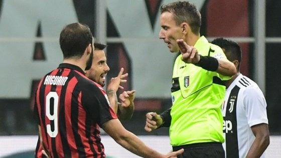 Milan, Higuain squalificato per due giornate