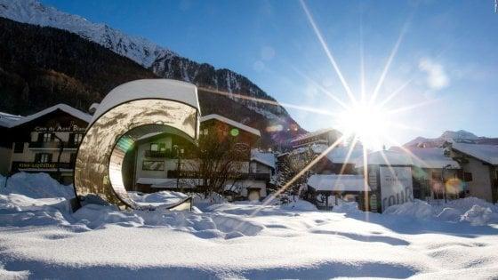 Inizia la stagione invernale a Courmayeur con feste e l'apertura di un nuovo hotel