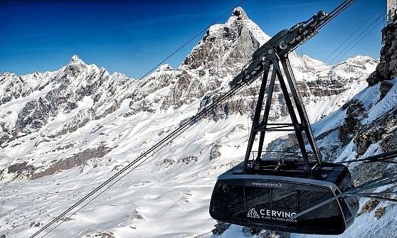Cervinia-Zermatt, d'inverno adesso è una passeggiata. D'estate....
