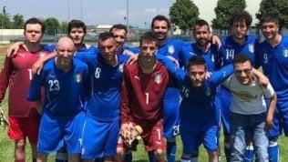 A Roma da campione: si raduna la nazionale di calcio a 7 cerebrolesi