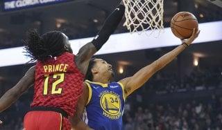 Basket, Nba: Golden State rinasce senza Green, Houston espugna Denver