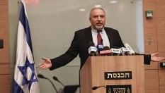 """Si dimette il """"falco"""" Lieberman, ministro Difesa. """"Tregua a Gaza, resa al terrorismo"""""""