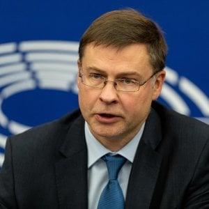 Manovra, Ue dura dopo la lettera. Dombrovskis: Piano controproducente