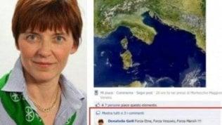 """""""Forza Vesuvio e forza Etna"""" su Fb: assolta in appello ex consigliera leghista di Monza"""