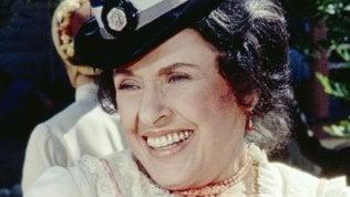 È morta Katherine MacGregor, interpretava Harriet Oleson nel telefilm 'La casa nella prateria'