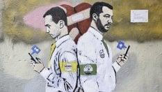 Di Maio-Salvini, nuovo murale firmato TvBoy: l'amore è finito foto