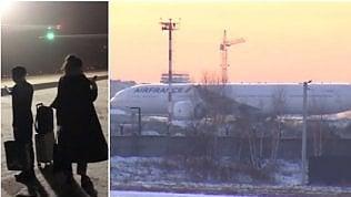 L'odissea di 264 passeggeri: bloccati per tre giorni al gelo