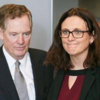 """Ue,  Malmström: """"Pronti a rispondere se Usa mettono dazi sulle auto"""""""