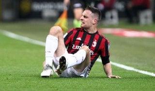 Milan, guai per Gattuso. Bonaventura si dovrà operare