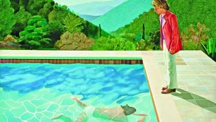 Hockney all'asta per 90 milioni di dollari, record per artista vivente