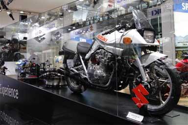 Katana, Suzuki moto, storia e spade