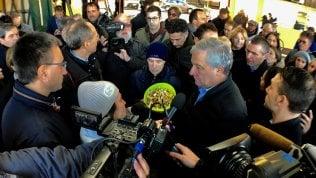 Pernigotti, Tajani al presidio dei lavoratori: Contatterò governo turco. La proprietà venga al tavolo Conte