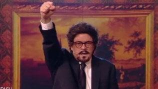 Crozza-Toninelli è irresistibile: ilministro esulta per ogni cosa