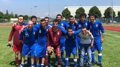 Campioni in erba a Roma: al Tre Fontane la nazionale di calcio a 7 cerebrolesi