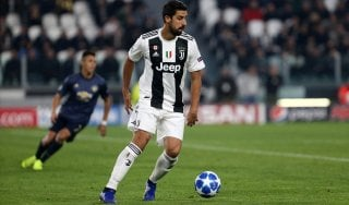 Juventus, Khedira si fa male alla caviglia: forte dubbio per la Spal