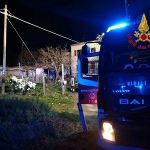 Macerata, incendio in una villetta: morte due persone