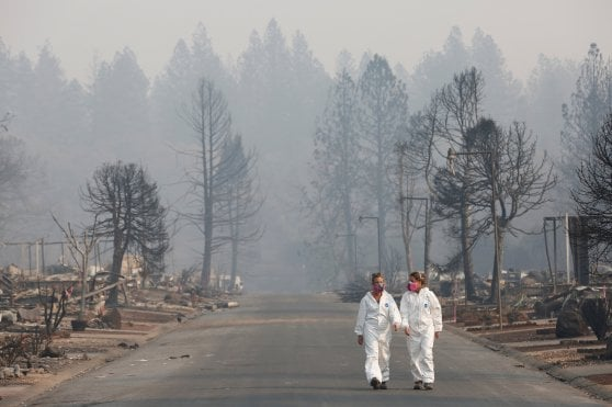 California. Incendi: morti sono 63, oltre 600 dispersi
