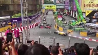 Macao, spaventoso incidente a Sophia Floersch: la pilota tedesca grave ma cosciente in ospedale