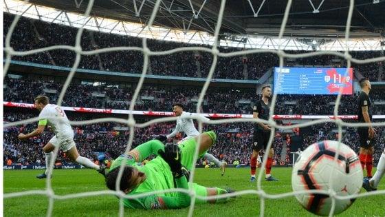 Nations League, Inghilterra alla Final Four: Kane rimonta la Croazia. Belgio crolla in Svizzera