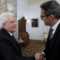 """Mattarella: """"Costituzione tutela libertà stampa e minoranze"""". """"Con Ue prospettive crescita..."""