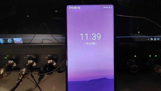 Zte: primo smartphone per 5G in arrivo entro l