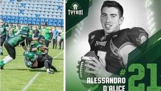 Dalla Cattolica alla Polonia per l'Erasmus: studente diventa stella del football americano