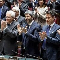 Il centenario di Montecitorio, Fratelli d'Italia lascia l'aula sotto gli occhi di...