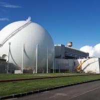 Garigliano: dall'ex centrale nucleare recuperati ferro, rame e plastica