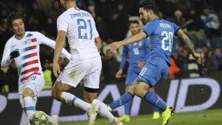 Italia dei giovani batte gli Usa.Decide Politano al 94': finisce 1-0di JACOPO MANFREDI