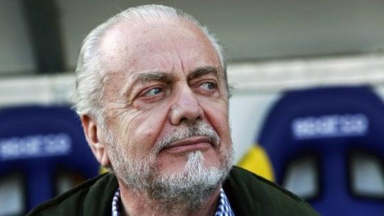 Napoli, De Laurentiis rivela: ''A giugno arriverà un top player''