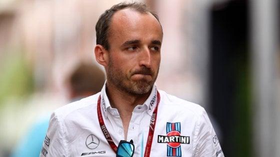 F1, il ritorno di Kubica: nel 2019 guiderà la Williams