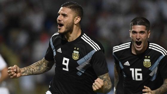 Amichevoli: l'Argentina sorride con Icardi-Dybala, vince Brasile ma Neymar si fa male