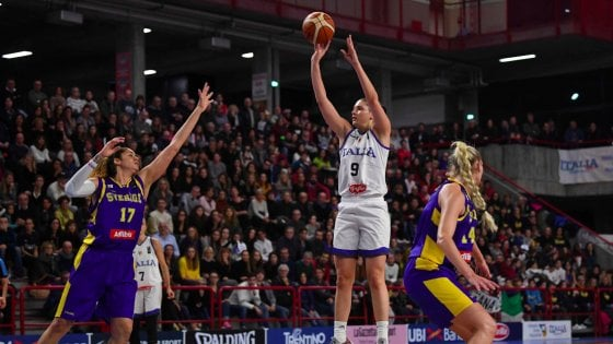 Basket femminile, Italia-Svezia 62-56: azzurre agli Europei