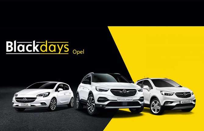 """Al via l'operazione """"Black Days Opel"""""""