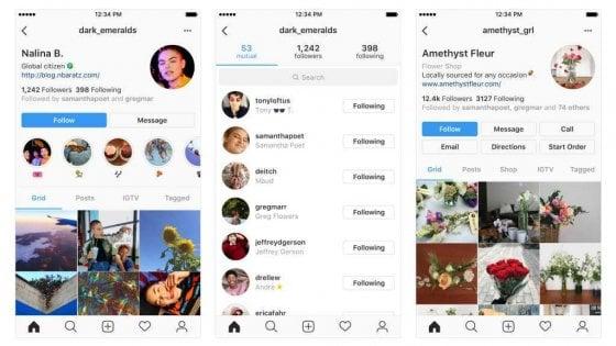 Instagram semplifica il profilo: restyling in arrivo