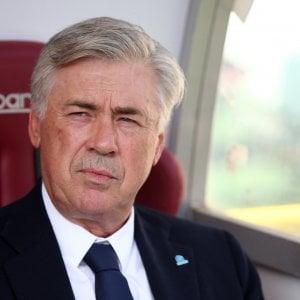 """Napoli, Ancelotti: """"Se cori razzisti a Bergamo chiederemo la sospensione della gara"""""""