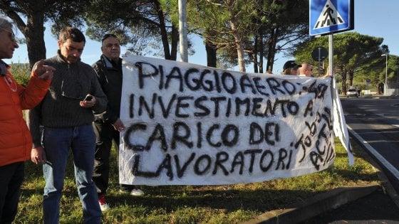 Piaggio Aerospace, libri in Tribunale: a rischio 1.200 lavoratori