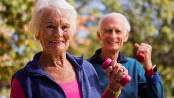 Una regolare attività fisica mantiene il corpo più giovane di 30 anni