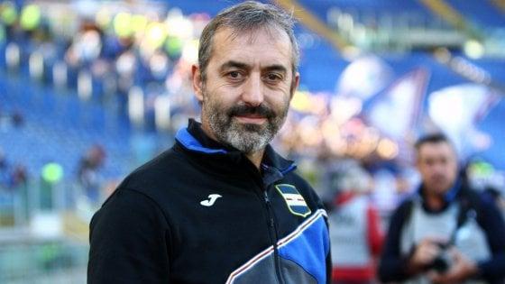 """Sampdoria, Giampaolo: """"Il derby è diverso da tutto, sfidiamo il Genoa senza paura"""""""
