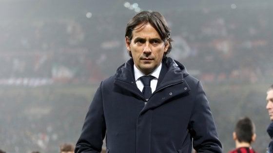 """Lazio, Inzaghi avverte il Milan: """"Siamo quarti e vogliamo restarci"""""""