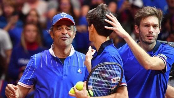 Finale Davis: reazione Francia, Herbert-Mahout vincono il doppio